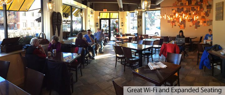 Great Wi-Fi and Expanded Seating